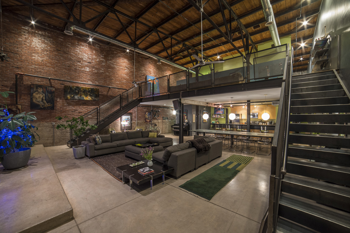 See tucson lofts tucson lofts condos flats lofts for for Industrial style house for sale