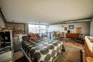 Ice House 115 Loft Bedroom