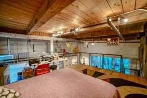 Ice House 115 Mini Loft Bedroom