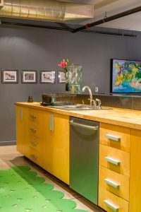 Ice House Loft 122 Kitchen Sink