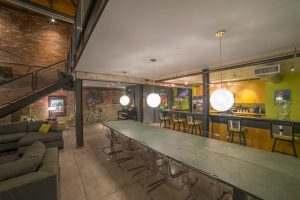 Ice House Loft 122 Greatroom Dining Area