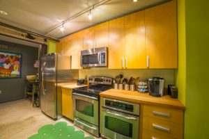 Ice House Loft 122 Kitchen