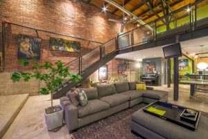 Ice House Loft 122 Living Area