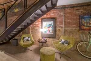 Ice House Loft 122 Greatroom Lounge Area
