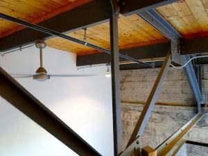 Ice House Loft 212 Industrial Accents